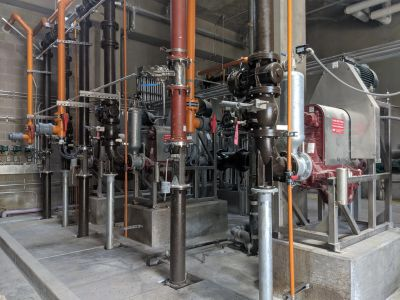 Waste Activated Sludge Pumping Station