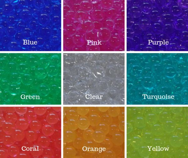 100 Packs of Water Beads (10g/pk) FREE Shipping