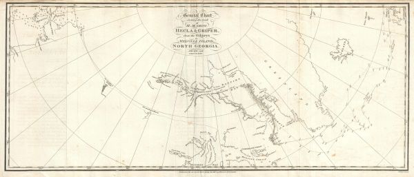 General Chart Shewing the track of H.M. Ships Hecla & Griper...