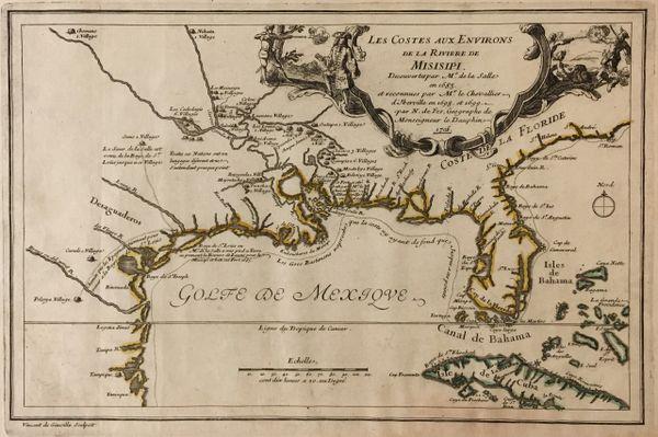 les contes aux environs de la rivière de misisipi.
