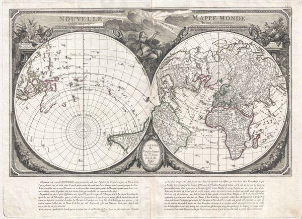 Nouvelle Mappe Monde dédiée au progrès de nos connaissances.