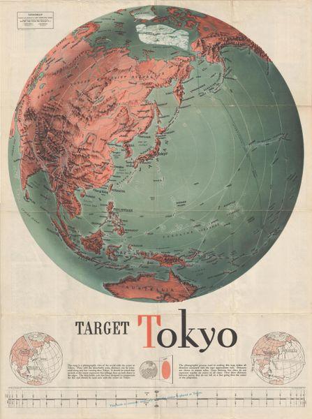 Target Tokyo: Newsmap. Monday, October 18, 1943.