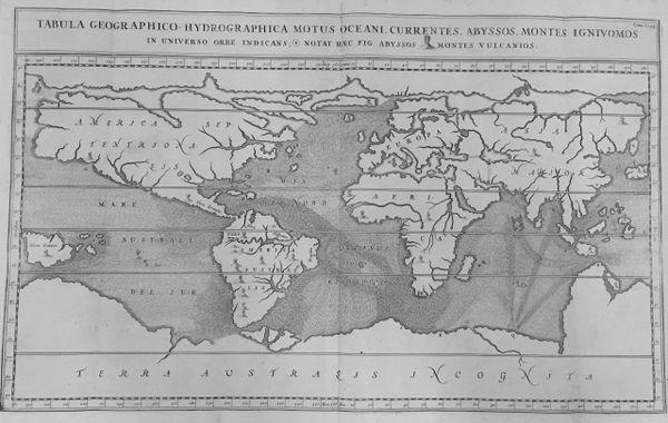 Tabula Geographic-Hydrographica Motus Oceani...