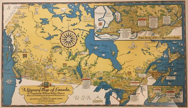 A Literary Map of Canada...