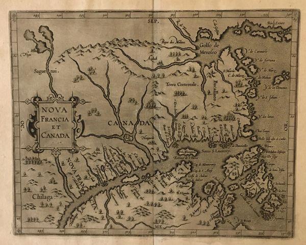 Nova Francia et Canada 1607