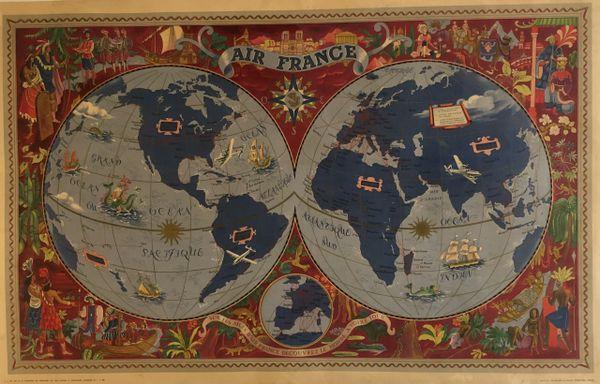 Air France - Sur les ailes d'Air France découvrez le monde a votre tour.