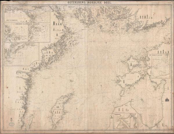 Johan Georg Blankensteiner Chart, Ostersoens Nördlice Deel.