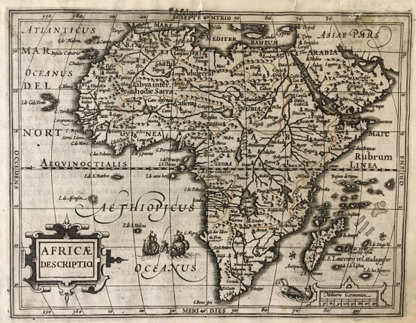 Africae Descriptio.