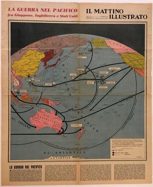 V. Clementi, La Battaglia dell'atlantico. la guerra nel pacifico.