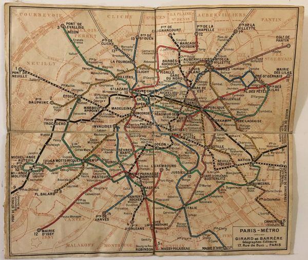 Paris - Metro.