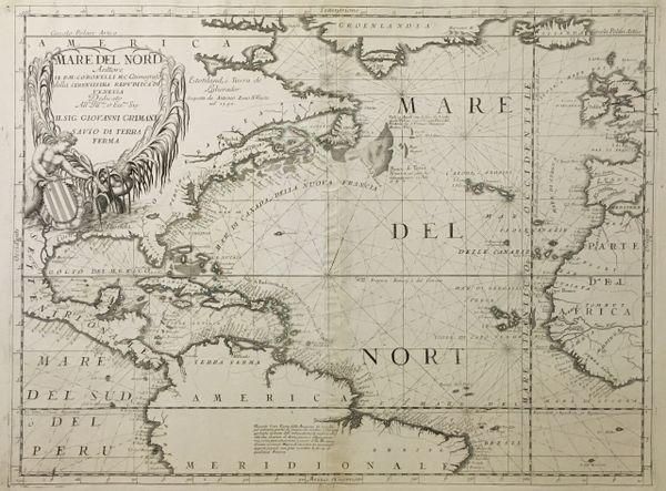 Mare Del Nord Auttore Ill P.M. Coronelli