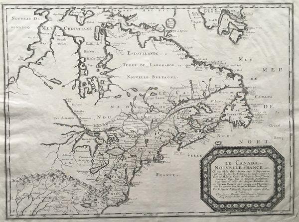 Le Canada ou Nouvelle France &C. Ce qui est le plus advance vers le Septentrion...