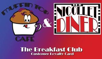 Customer Loyalty Card for The Breakfast Club