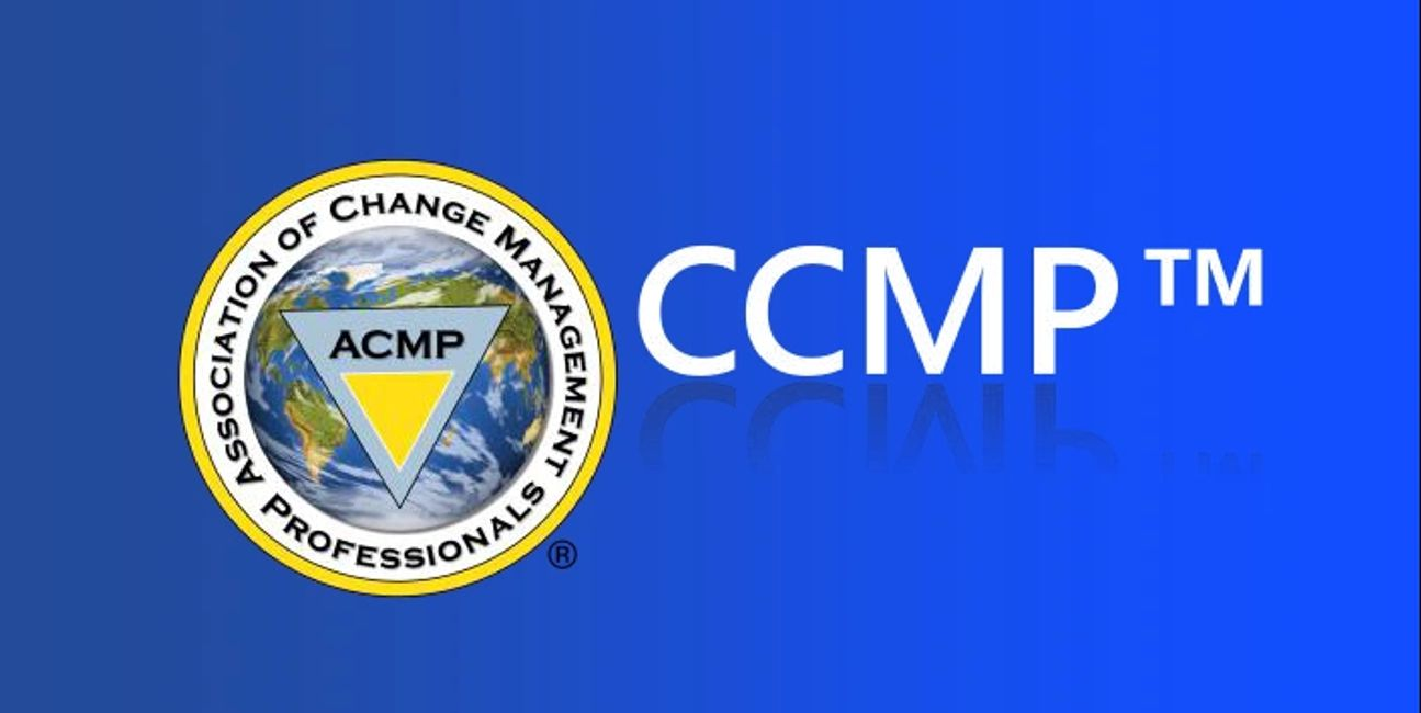 CCMP, Certified Change Management Professional