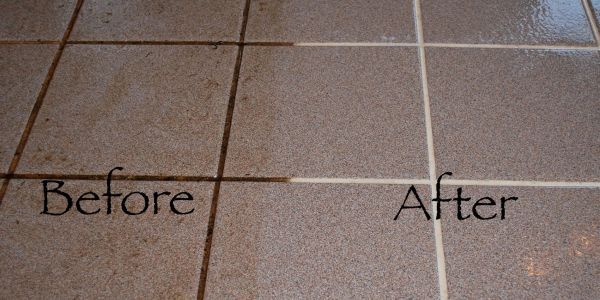 grout cleaning with a sealer in punta gorda port charlotte florida
