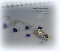 NECKLACE AMETHYST BEAUTY
