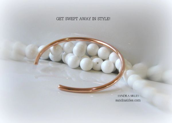COPPER SMOOTH CUFF BANGLE
