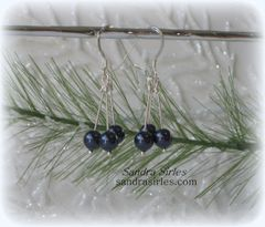 TRIO OF BLUE EARRINGS