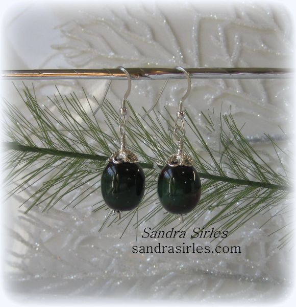 RUBY AND EMERALD DELIGHT EARRINGS