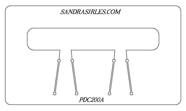 PANCAKE DIE PDC200 CUFF 1x6 3/4x6 1/2x6