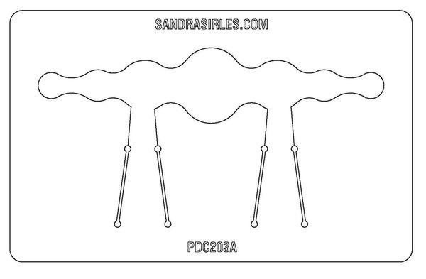 PANCAKE DIE PDC203A CUFF CIRCLES