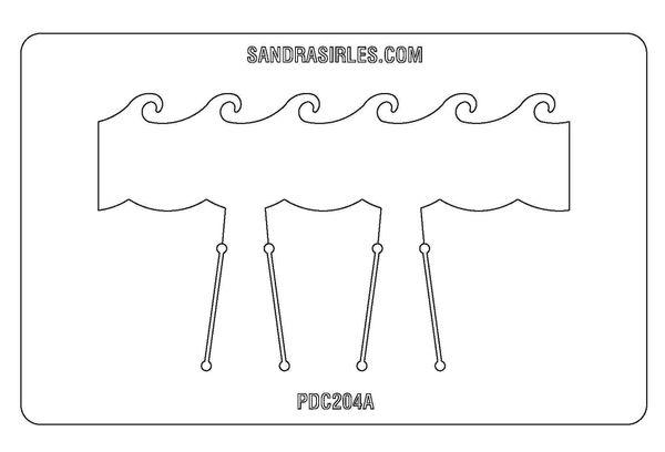 PANCAKE DIE PDC204 CUFF WAVES