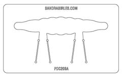 PANCAKE DIE PDC206 CUFF SCALLOP
