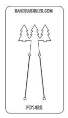 PANCAKE DIE PD148A LG. TREES