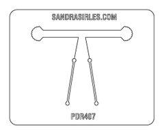 PANCAKE DIE PDR407 RING SHELL FAN