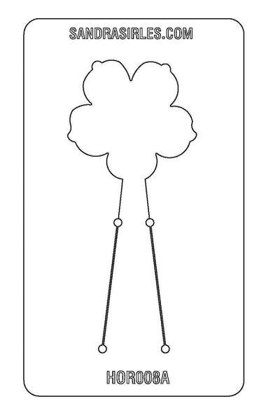 PANCAKE DIE HOR008 FLOWER