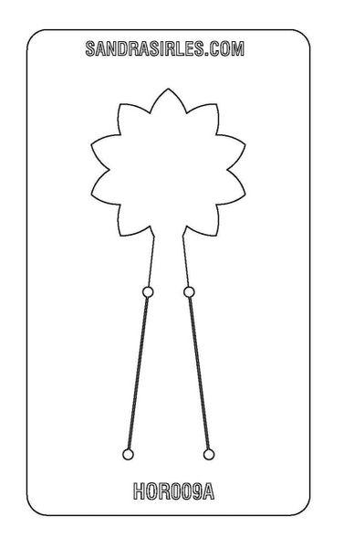 PANCAKE DIE HOR009 FLOWER 1