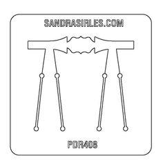 PANCAKE DIE PDR408 RING SHANK