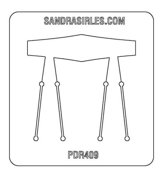 PANCAKE DIE PDR409 RING SHANK 1