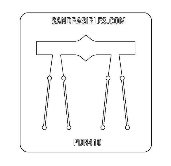 PANCAKE DIE PDR410 RING SHANK 2