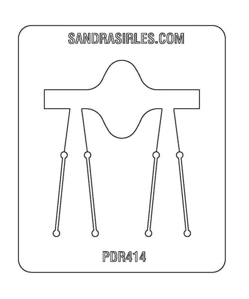PANCAKE DIE PDR414 RING SHANK 6