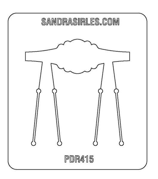 PANCAKE DIE PDR415 RING SHANK 7