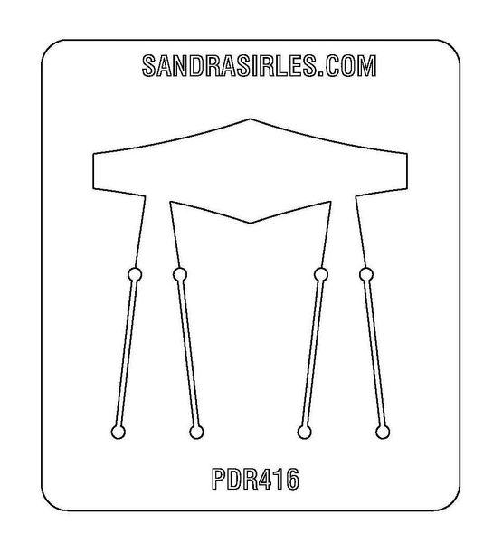 PANCAKE DIE PDR416 RING SHANK 8