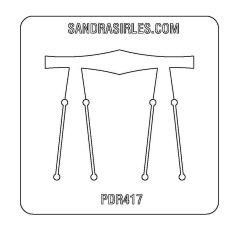 PANCAKE DIE PDR417 RING SHANK 9