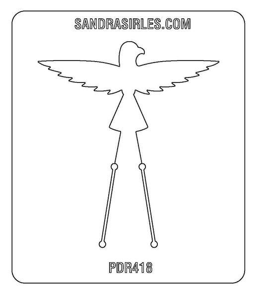 PANCAKE DIE PDR418 RING SHANK 10 THUNDERBIRD