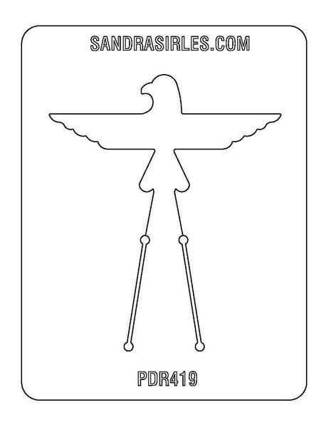 PANCAKE DIE PDR419 RING SHANK 11 THUNDERBIRD 1