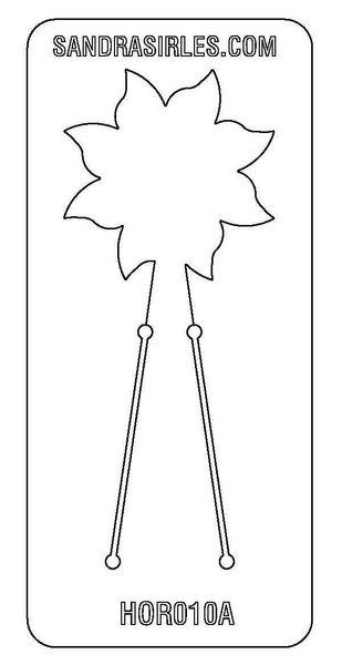 PANCAKE DIE HOR010 FLOWER 2