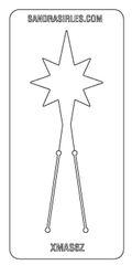 PANCAKE DIE XMAS6 NORTH STAR