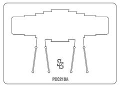 PANCAKE DIE PDC218 CUFF ASTEC