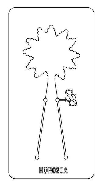 PANCAKE DIE HOR020 FLOWER 7