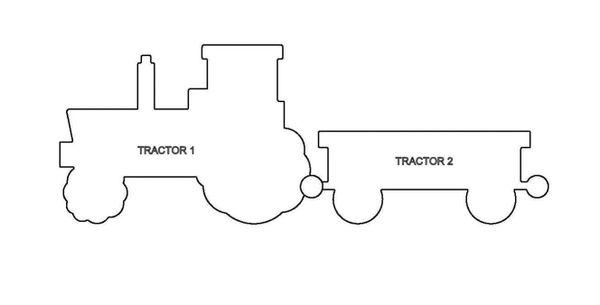PANCAKE DIE PD203-1 TRACTOR 1