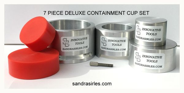 7 PIECE DELUXE CONTAINMENT CUP SET
