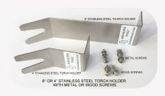 STAINLESS STEEL TOURCH HOLDER / SCREWS