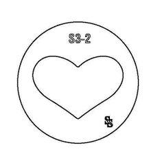 SILHOUETTE DIE S3 HEART