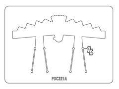 PANCAKE DIE PDC221A CUFF THUNDERBIRD 1