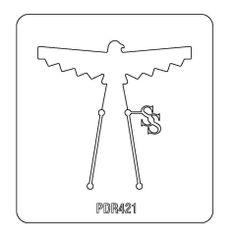 PANCAKE DIE PDR421 RING SHANK 13 THUNDERBIRD 1
